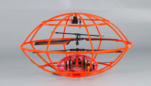 3.5 Channel R/C Small Flying Saucer