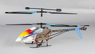 3.5 Channel 2.4GHz R/C Alloy Helicopter with Gyro