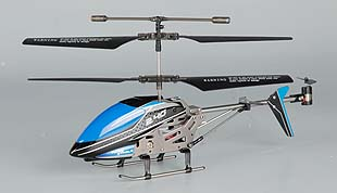 3.5 Channel 2.4GHz R/C Metal Helicopter with Gyro