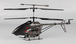 3.5 Channel 2.4GHz R/C Metal Medium Helicopter with Gyro and Camera