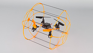 3.5 Channel 2.4GHz R/C Quadrocopter with Gyro