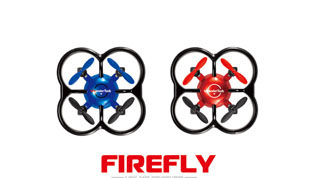 2.4G R/C drone with one key flip