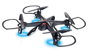 2.4G FLIPS A FOUR-AXIS AIRCRAFT, SIX-AXIS GYROSCOPE, TRANSMITTER