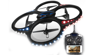 Axis 2.4G remote control UFO (with camera) real-time transmission