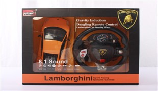 1:14 Aauthorization Lamborghini LP570 (steering wheel)(battery included)