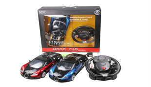 1:10 R/C Bugatti(steering wheel) (battery included)