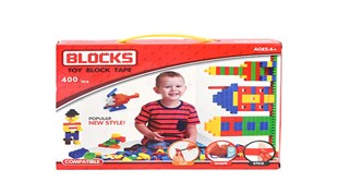 Block Tape Block 400PCS with silicone strips with dolls