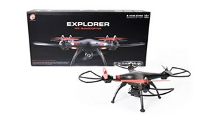 2.4G R/C DRONE(WIFI, 0.3MP camera, FPV, altitude position hold)